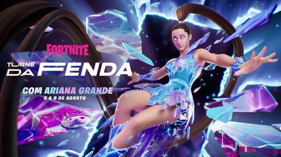 Epic Games confirma Ariana Grande em Fortnite