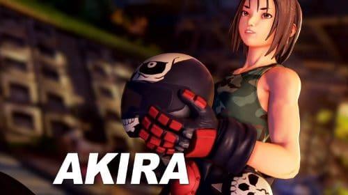 Trailer de Street Fighter V destaca gameplay de Akira Kazama