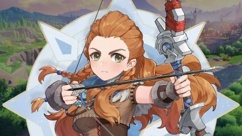 Primeiro gameplay de Aloy em Genshin Impact aparece na internet