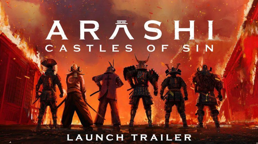 Seja um ninja: Arashi: Castles of Sin chega ao PS VR nesta terça (10)