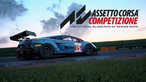 Assetto Corsa Competizione terá versão de PS5 em fevereiro de 2022