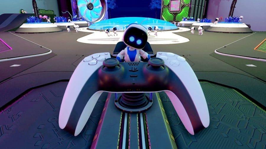 Team Asobi, de Astro's Playroom, está trabalhando no seu