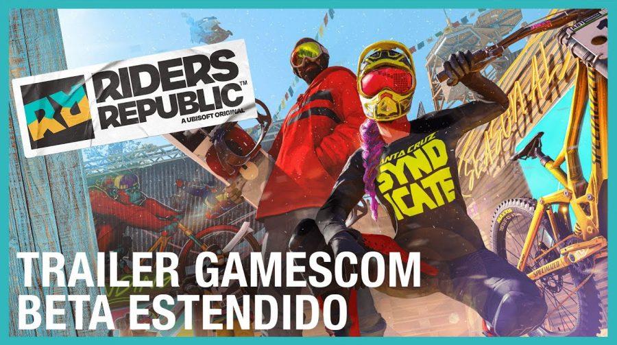 Beta de Riders Republic agora é aberto para todos; baixe aqui no PS4 e no PS5!