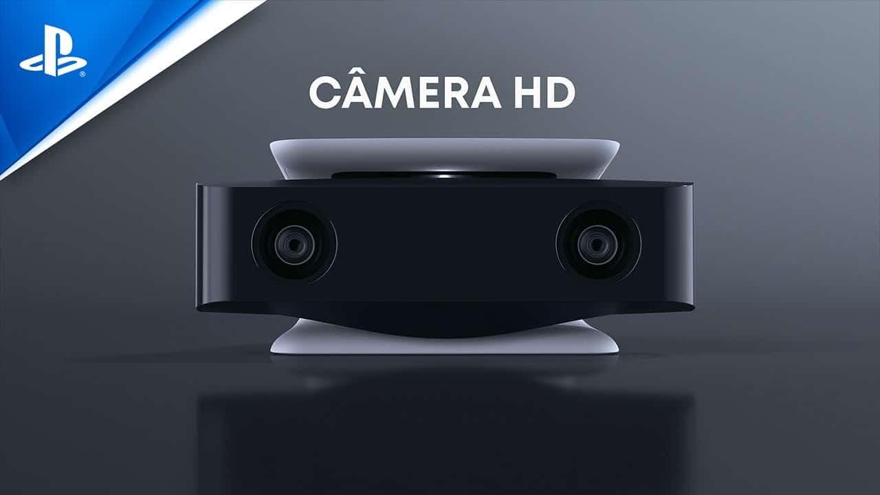 Câmera HD para PS5: essencial para quem quer transmitir gameplay