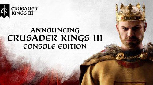 Crusader Kings III é confirmado para PlayStation 5 e Xbox Series