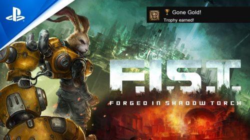 Desenvolvimento de F.I.S.T.: Forged in Shadow Torch está concluído