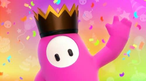 Fall Guys celebra primeiro aniversário com dobro de coroas e novas skins