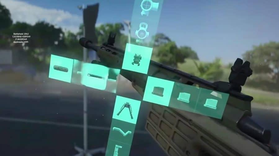 Gameplay de Battlefield 2042 aparece na internet e detalha customização de armas em tempo real