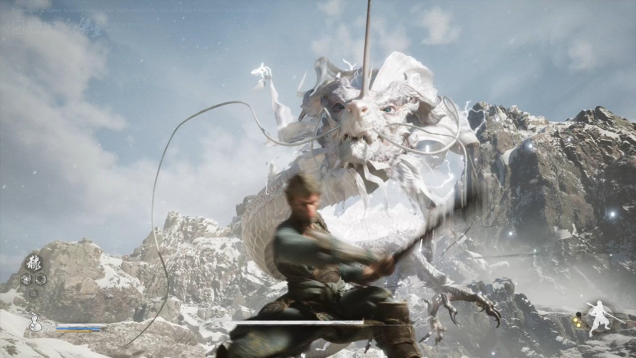 Gameplay de Black Myth: Wukong
