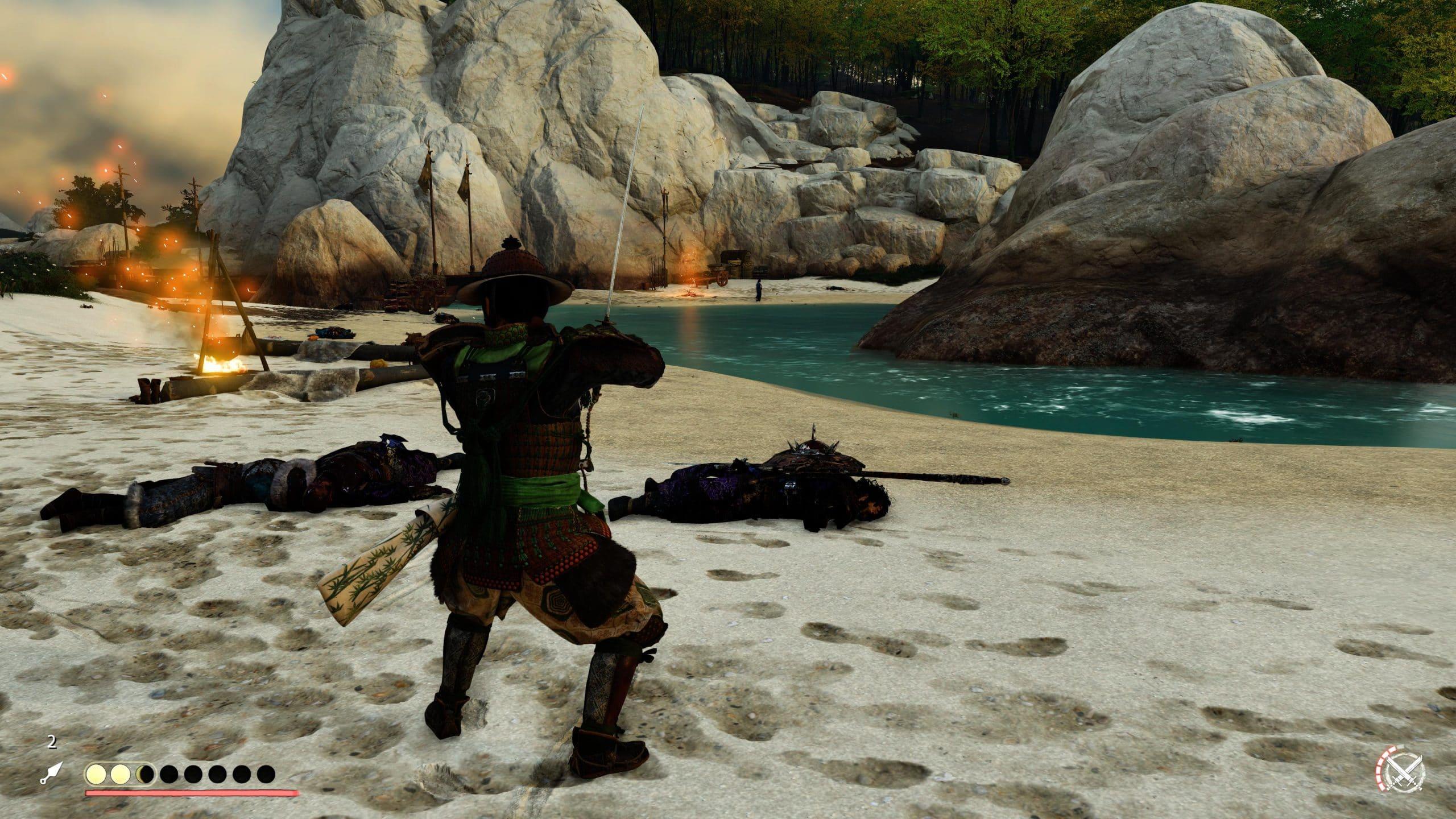 Combates são intensos no game da Sucker Punch