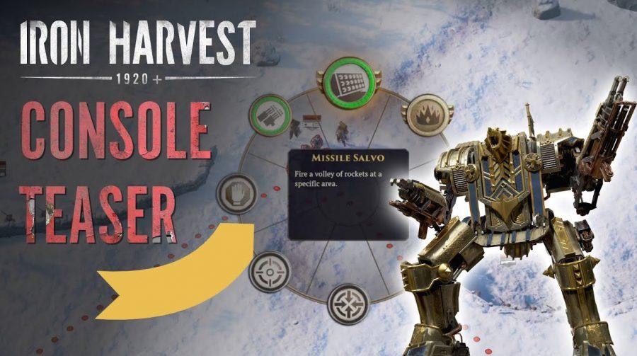 Iron Harvest, jogo de estratégia, chega no final de 2021 ao PS4 e ao PS5