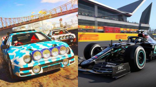 DIRT 5, F1 2020 e GRID chegarão em breve ao catálogo do EA Play