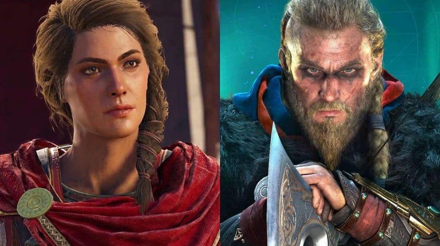Kassandra, de Assassin's Creed Odyssey, pode estar no DLC de AC Valhalla [rumor]