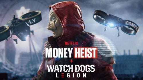 Skin de La Casa de Papel está a caminho de Watch Dogs Legion