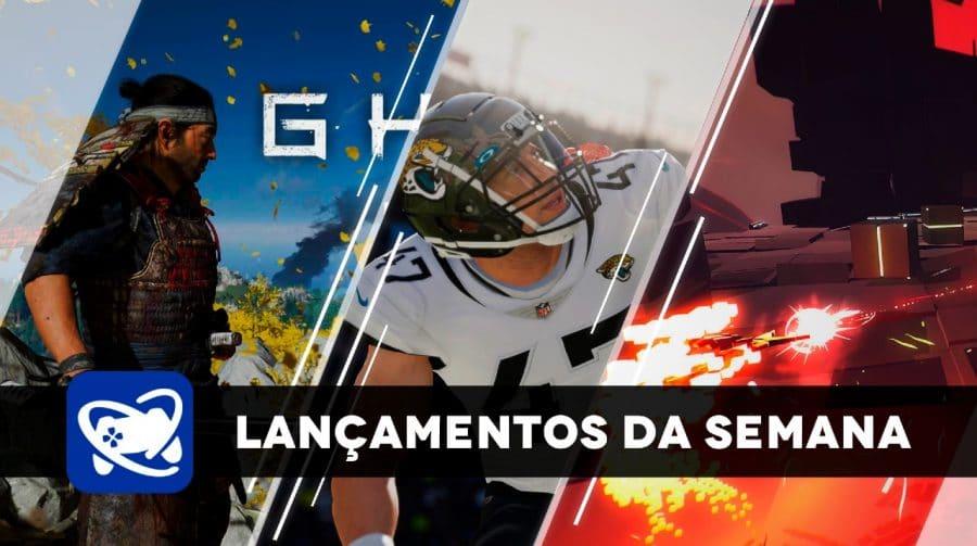 Confira os lançamentos da semana (17/08 a 20/08) para PlayStation 4 e PlayStation 5