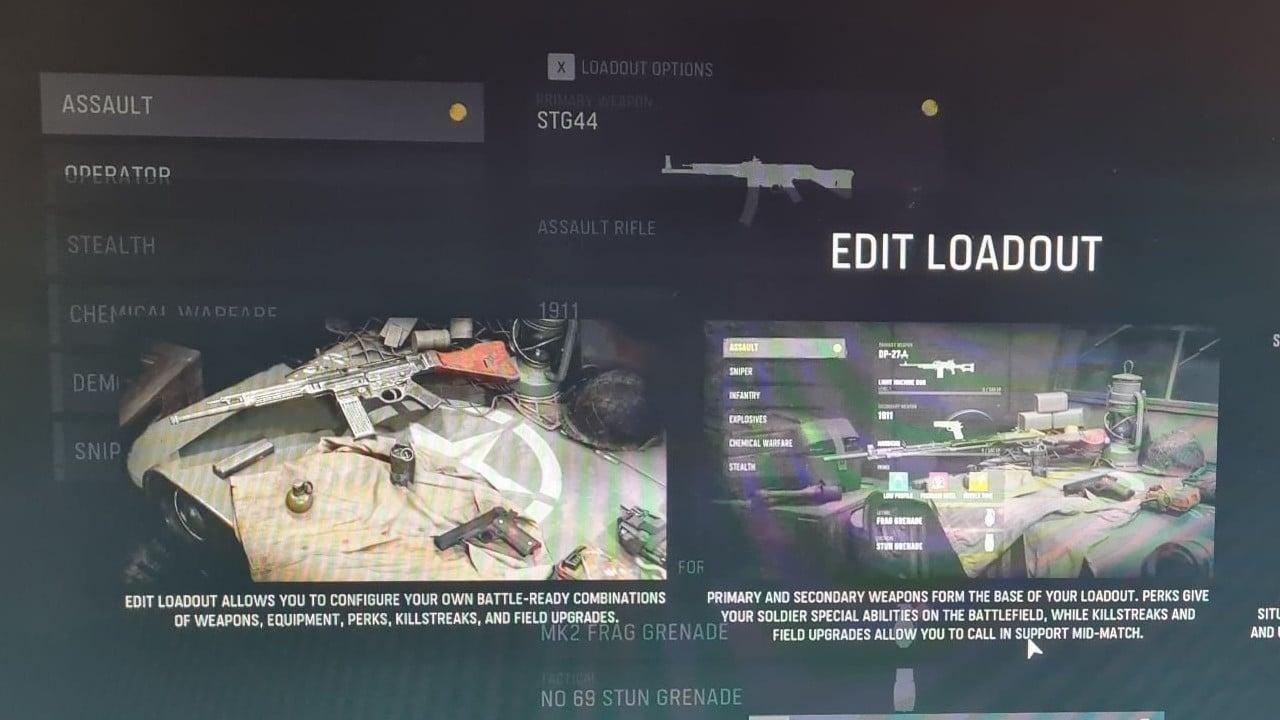 Loadout Call of Duty: Vanguard