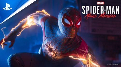 Spider-Day: Insomniac revela estatísticas de Spider-Man Miles Morales
