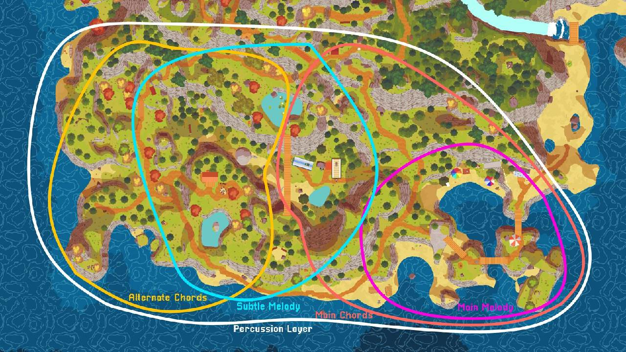 Mapa de A Short Hike
