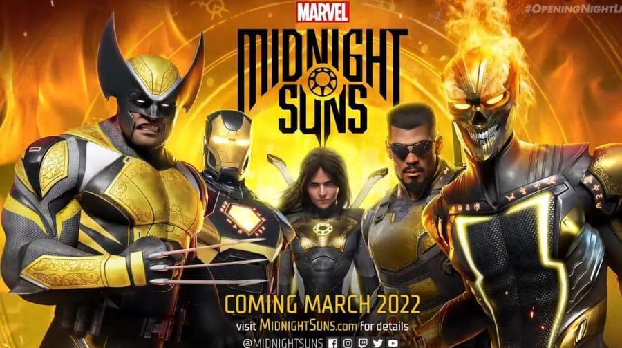 Marvel's: Midnight Suns, novo RPG tático da 2K, é anunciado com janela de estreia