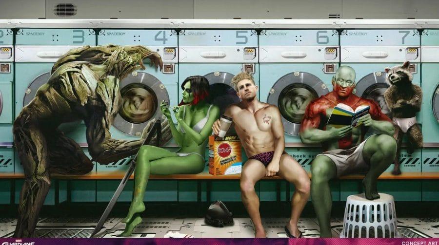 Eidos Montreal reimagina os personagens em Marvel's Guardians of the Galaxy