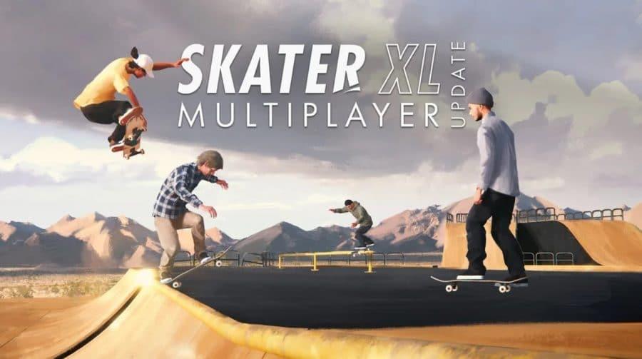 Hora do rolê com os amigos! Modo online de Skater XL já está disponível
