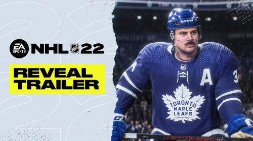 Com nova engine, NHL 22 é anunciado com estreia para outubro no PS4 e no PS5