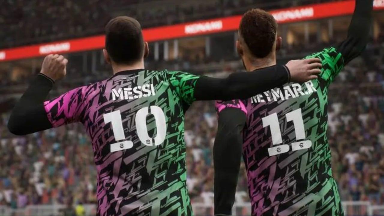 Messi e Neymar em eFootball - dúvidas sobre eFootball