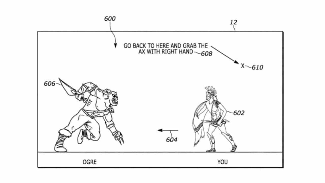 Nova patente da Sony