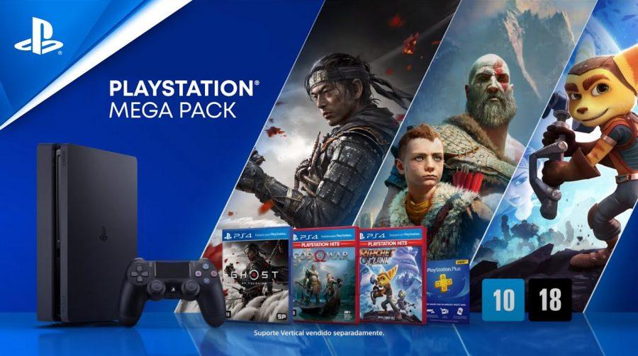 Novo Mega Pack do PS4 tem Ghost of Tsushima, God of War e Ratchet & Clank