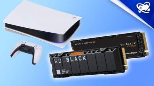 Arquiteto do PS5 já escolheu qual SSD utilizará para expandir o armazenamento do console