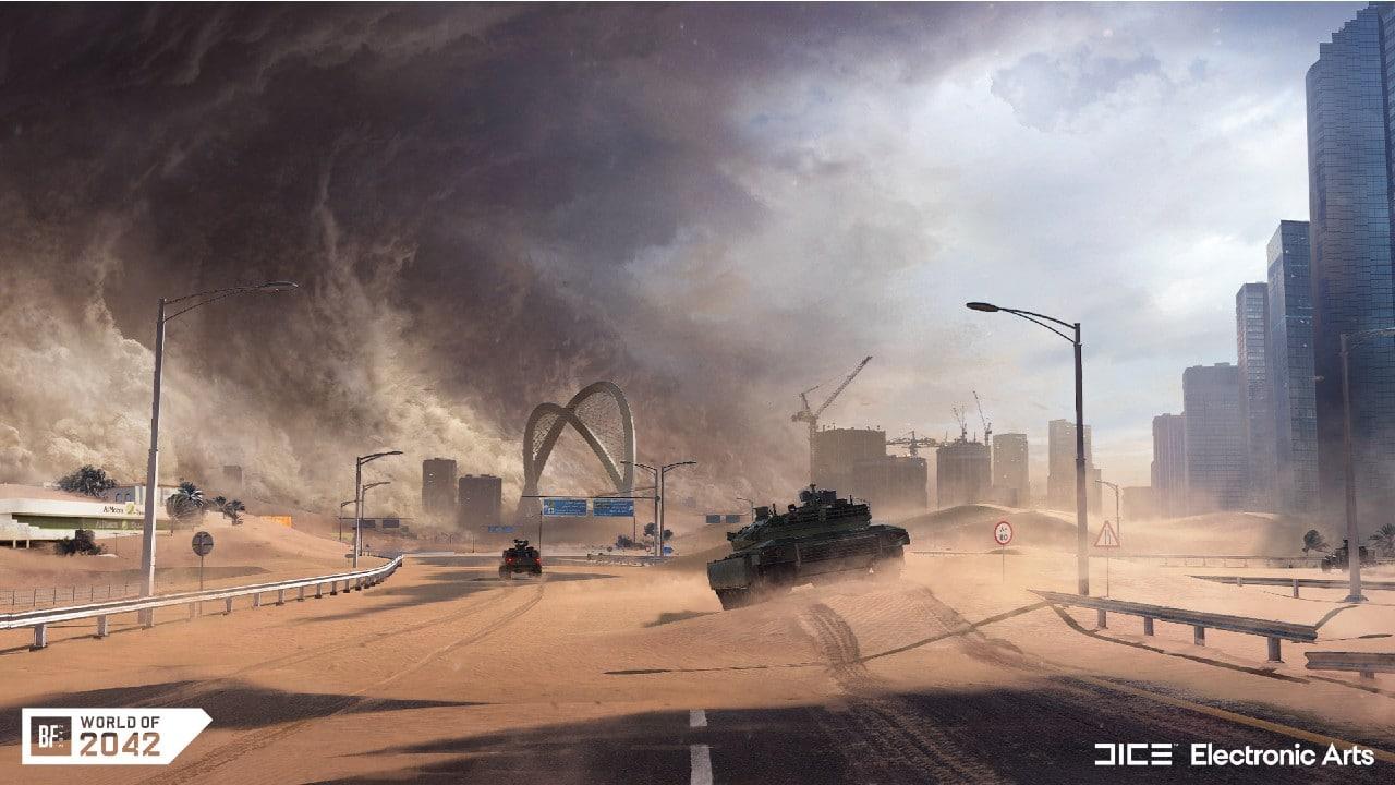 O mundo de Battlefield 2042