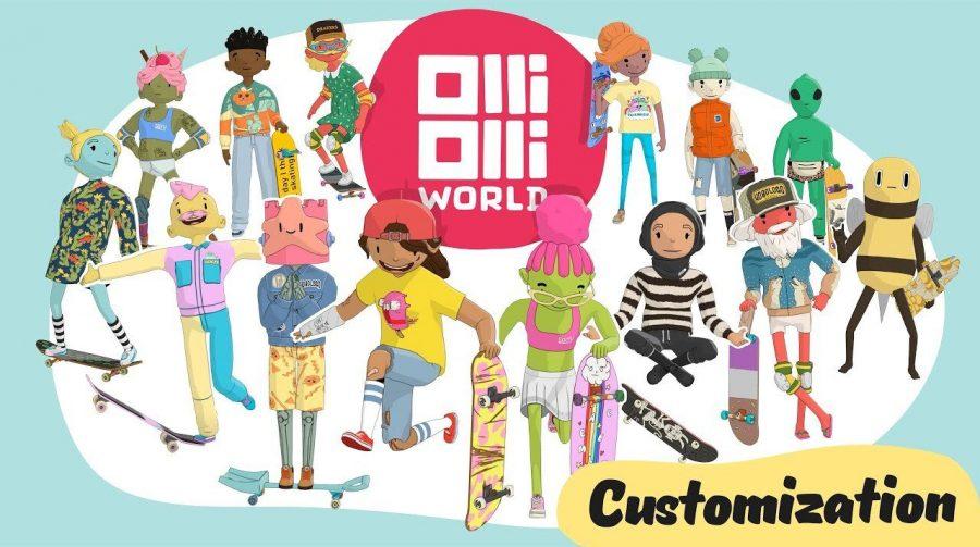 Trailer destaca opções para deixar seu skatista estiloso em OlliOlli World