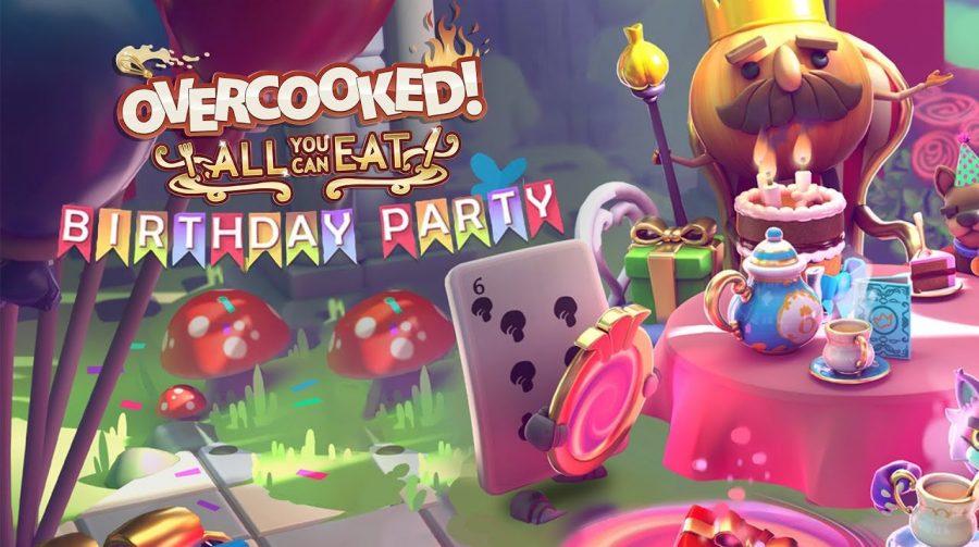Update de Overcooked! All You Can Eat comemora aniversário da série com cenários e mais