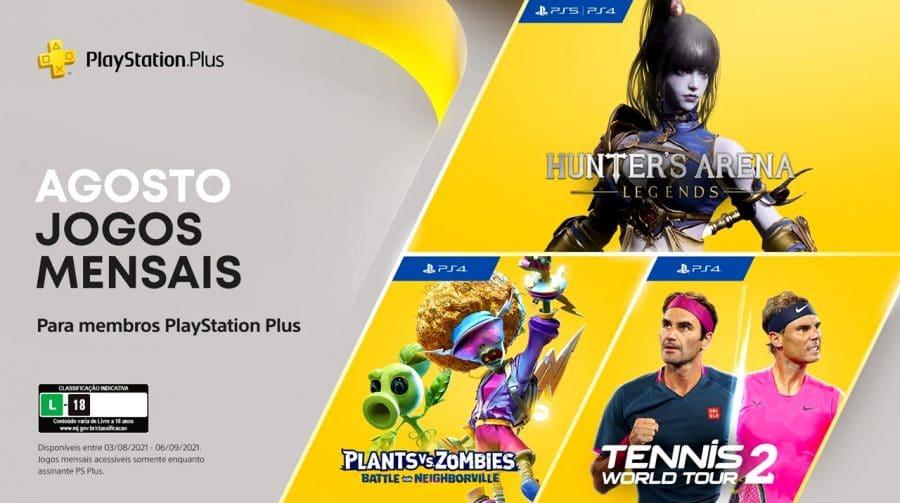 Ainda dá tempo! Hoje (06) é o último dia para baixar os jogos da PS Plus de agosto
