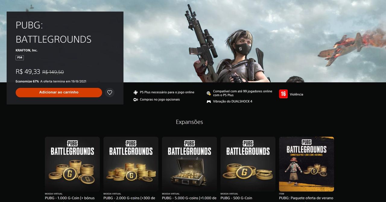 PUBG agora se chama apenas PUBG: Battlegrounds e quase ninguém percebeu