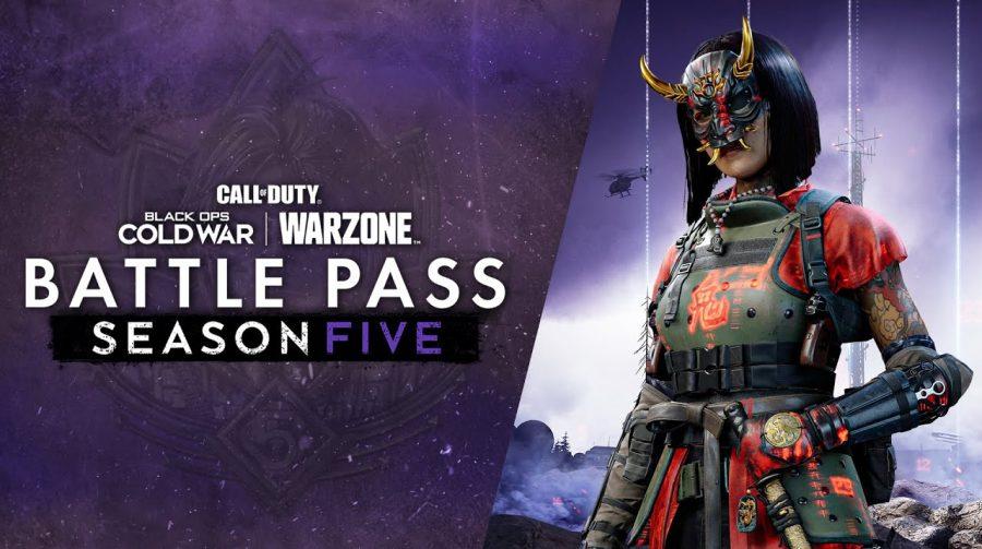 Trailer revela os destaques do passe da 5ª temporada de Warzone e Cold War