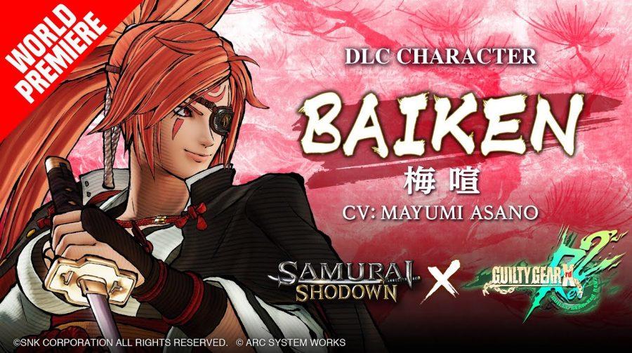 Samurai Shodown receberá Baiken, lutadora de Guilty Gear, nesta quinta-feira (19)