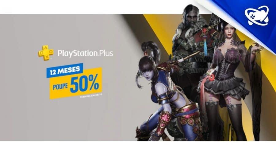 Sony oferece PlayStation Plus com 50% de desconto; aproveite!