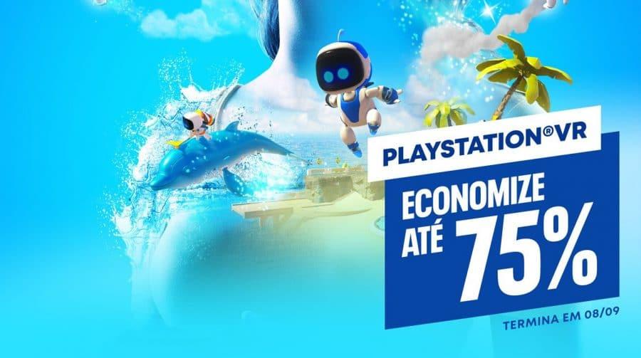 Sony lança promoção com até 75% de desconto para jogos de PlayStation VR