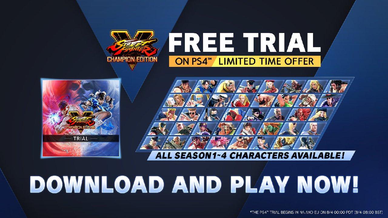 Promoções Street Fighter V
