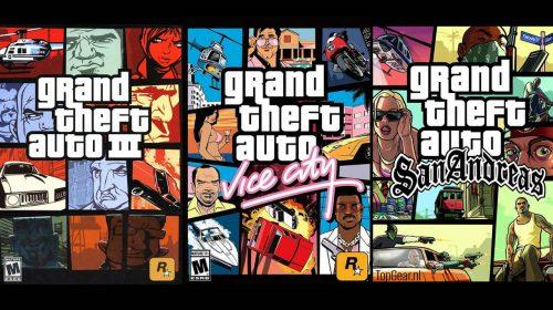 Remasters de GTA III, Vice City e San Andreas podem estrear até novembro [rumor]