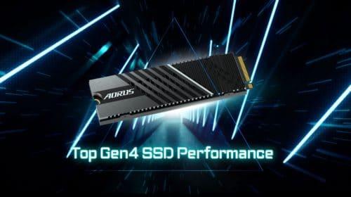 Gigabyte AORUS Gen4 7000s é mais um SSD compatível com o PS5