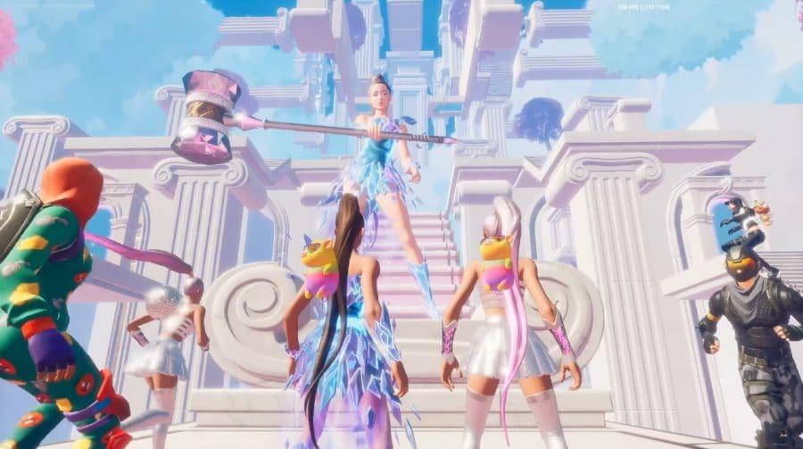 Veja como foi o show de Ariana Grande no Fortnite