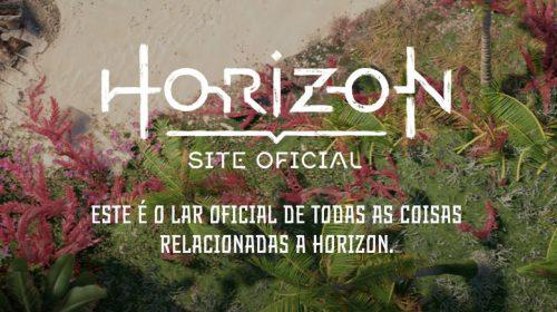 Guerrilla Games revela site oficial de Horizon localizado para PT-BR