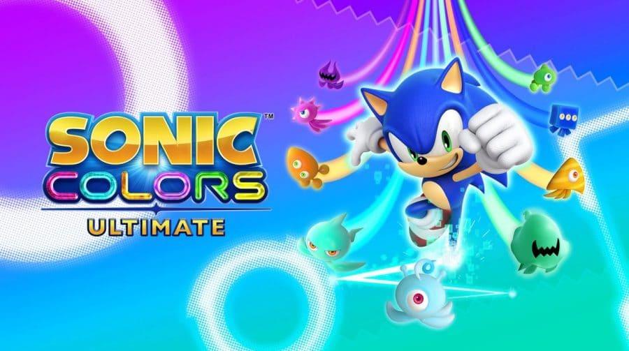 Site divulga 8 minutos de gameplay de Sonic Colors Ultimate em 4K