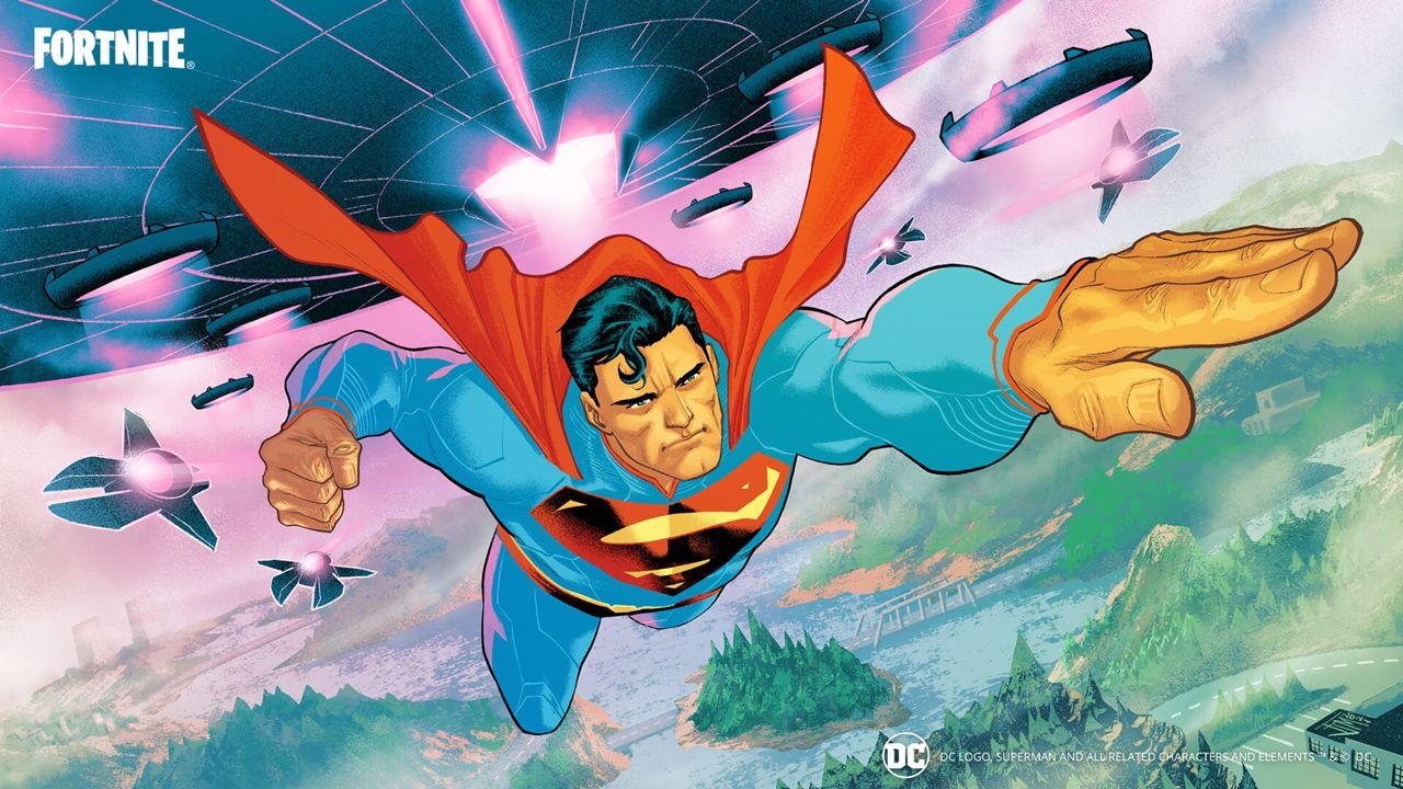 Superman em Fortnite