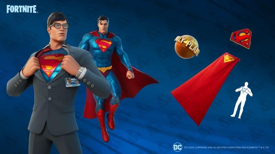 Skin de Superman já está disponível em Fortnite; veja como consegui-la