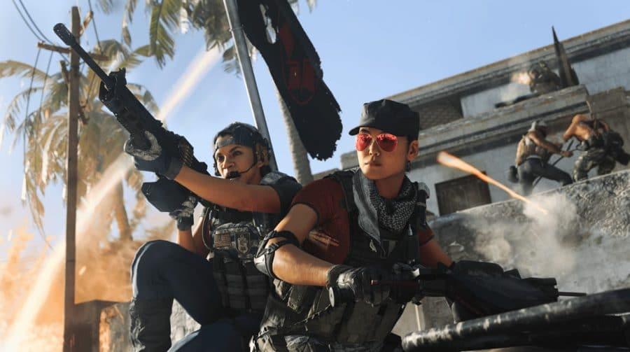 Teaser de Call of Duty: Vanguard aparece para vencedores em Warzone