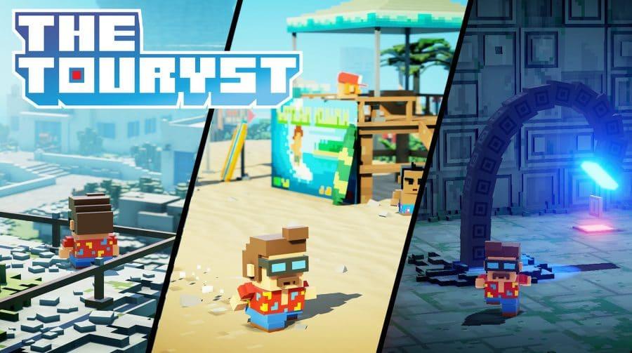 Com opção em 8K/60 FPS, The Touryst chega em setembro ao PS4 e ao PS5
