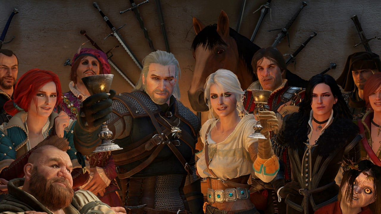 Personagens de The Witcher 3.